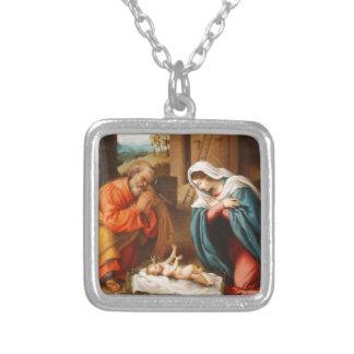 Natividad de Lorenzo Lotto Collar Personalizado
