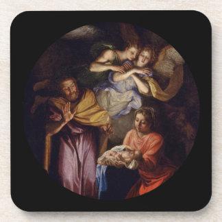 Natividad de Noel Coypel Posavasos