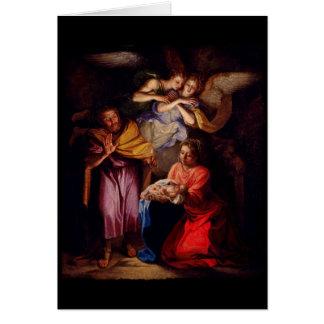 Natividad de Noel Coypel Tarjeta De Felicitación