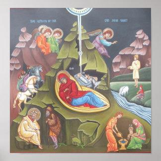 Natividad de nuestro señor póster
