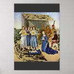 Natividad de Piero della Francesca (la mejor calid Poster