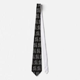 natividad de plata blanca negra corbatas personalizadas