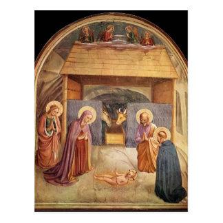 Natividad del Fra Angelico- Tarjeta Postal