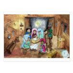 Natividad del navidad postales