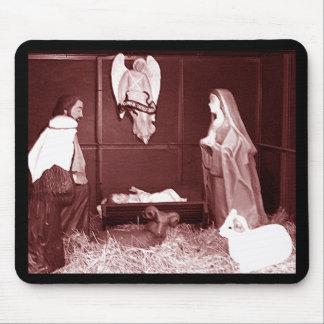 Natividad del navidad tapete de ratones
