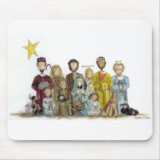 Natividad del navidad alfombrilla de ratón