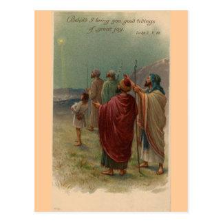 Natividad del navidad postal