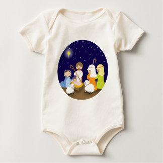 Natividad del señor body para bebé