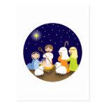 Natividad del señor tarjetas postales