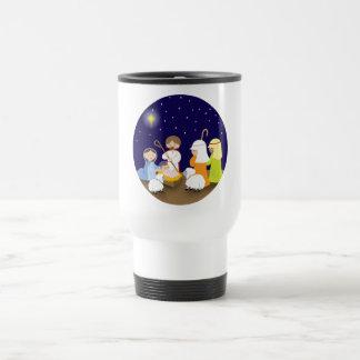 Natividad del señor taza de viaje