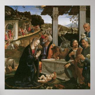Natividad - Domenico Ghirlandaio Póster