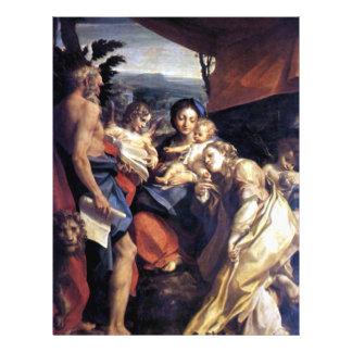 """Natividad - el día - Correggio - renacimiento Folleto 8.5"""" X 11"""""""