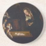 Natividad Geburt Christi de Geertgen tot Sint Jans Posavasos Para Bebidas