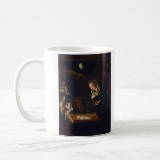 Natividad Geburt Christi de Geertgen tot Sint Jans Taza De Café