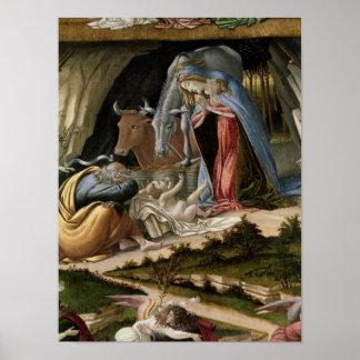 Natividad mística, 1500 póster