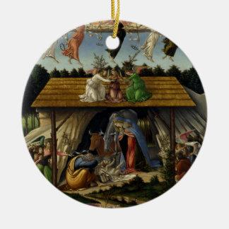 Natividad mística de Sandro Botticelli
