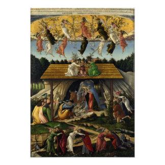 Natividad mística de Sandro Botticelli Cojinete