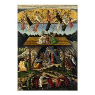 Natividad mística de Sandro Botticelli Impresiones Fotográficas