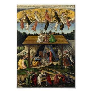Natividad mística de Sandro Botticelli Impresiones Fotograficas