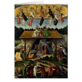 Natividad mística de Sandro Botticelli Tarjeton