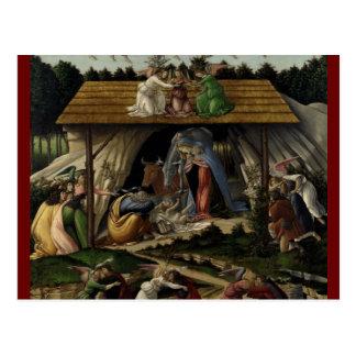 Natividad mística postales