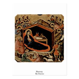 Natividad por Duccio Postal