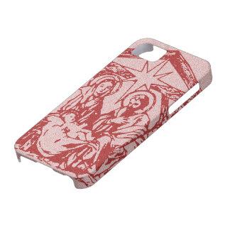 Natividad roja bonita funda para iPhone SE/5/5s