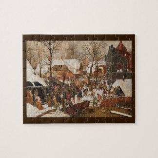 Natividad santa del renacimiento puzzle