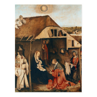 Natividad Tarjeta Postal