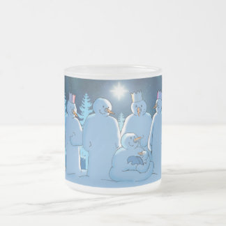 Natividad Taza De Cristal