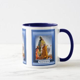 Natividad, taza del navidad