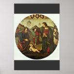 Natividad Tondo de Perugino Pedro (la mejor calida Poster