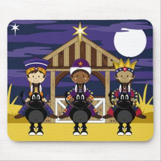 Natividad tres reyes Mousepad Alfombrillas De Raton
