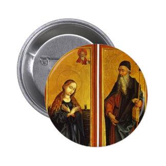 Natividad y St Anthony de Martin Schongauer Pins