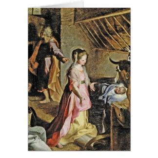 Nativita  c1597 card