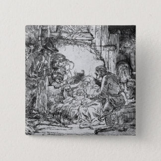 Nativity, 1654 pinback button