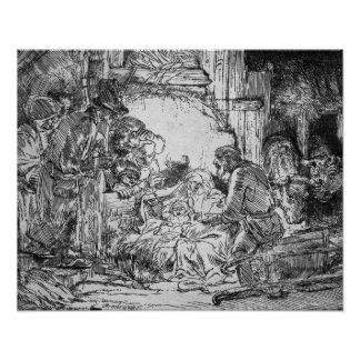 Nativity, 1654 poster