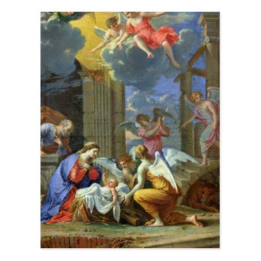 Nativity, 1667 postcard