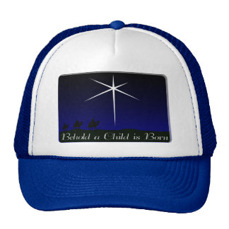 Nativity A Child Is Born Trucker Hat