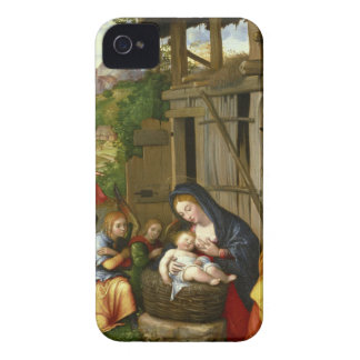 Nativity and Child Angels c1515 iPhone 4 Cover