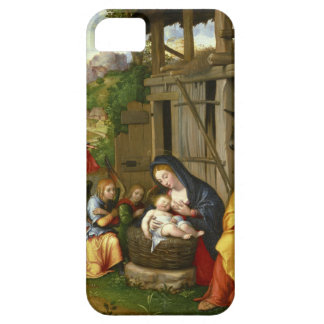 Nativity and Child Angels c1515 iPhone SE/5/5s Case