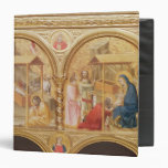 Nativity and the Adoration of the Magi 3 Ring Binder