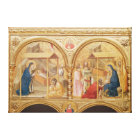 Nativity and the Adoration of the Magi Canvas Print