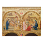 Nativity and the Adoration of the Magi Postcards