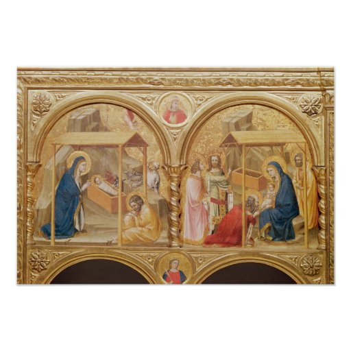 Nativity and the Adoration of the Magi Posters