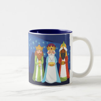 Nativity and the Three Wise Men Coffee Mugs