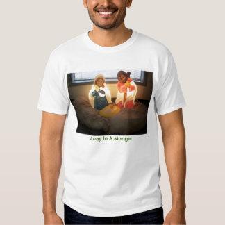 Nativity, Away In A Manger T-shirt