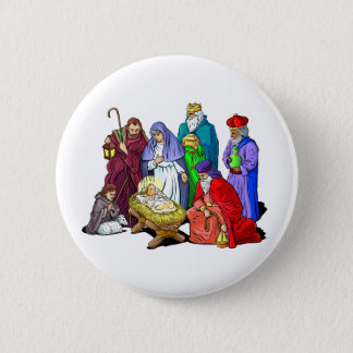 Nativity_Button Pinback Button