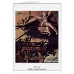 Nativity  By Beccafumi Domenico Greeting Card