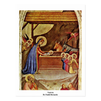 Nativity By Daddi Bernardo Postcard